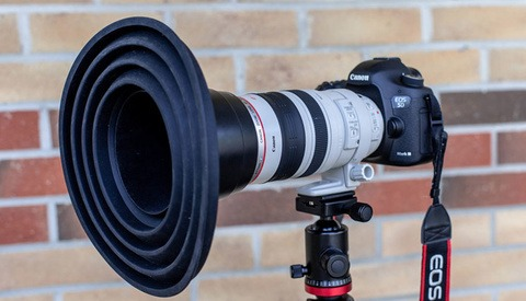 Meet the Lens Hood That Prevents Reflection When Shooting Through Glass