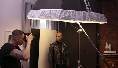 Lighting and Shooting Portraits in a Very Small Studio Space