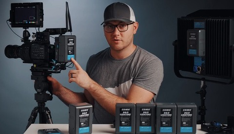 How to Use V-Mount Batteries and Why You Need Them