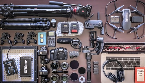 How a Filmmaker Packs 66 Lbs. of Gear in Carry-on Baggage