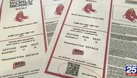 Boston Man's $650 World Series Ticket Stolen After He Posted It on Instagram