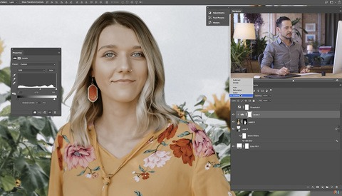 A Useful Tool for Matching Lighting in Composite Photographs