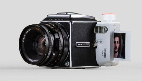 Need Medium Format Quality From an Instant Camera? Build Yourself a Hasselblad-Instax