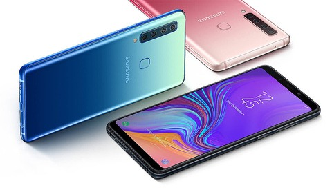 Samsung Galaxy A9: A Smartphone With Four Cameras