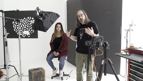 Creating Studio Portraits Using Just Speedlights