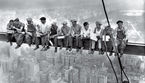 An Iconic Image: 'Lunch Atop a Skyscraper'