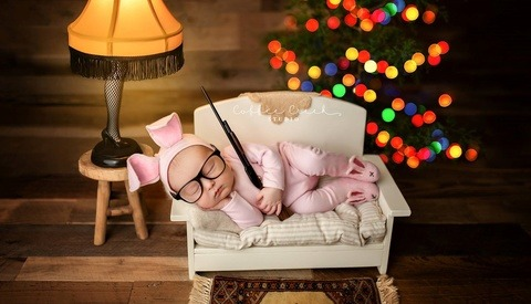 Babies and BB Guns: This Photographer Is Under Fire for a Christmas Story Inspired Infant Photo?