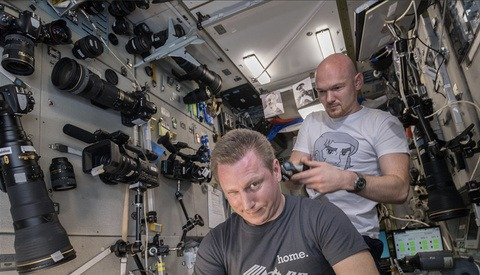 You'll Drool When You See the Massive Walls of Camera Gear on the International Space Station
