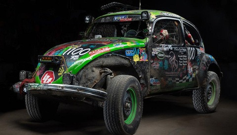 Photographs of Baja 1000 Race Vehicles After the Race Depict the Legendary Challenge