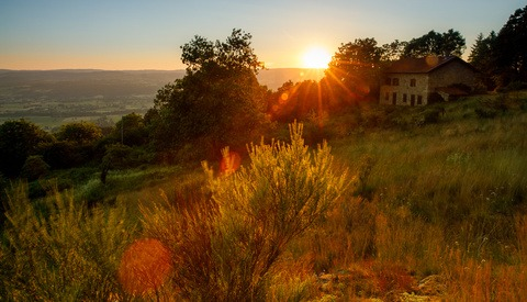 Give the Lens Flare in Your Landscape Photo the Finger