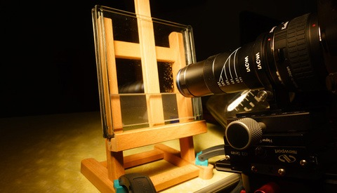 Using Macro Videography to Capture the Wet Plate Collodion Chemical Process