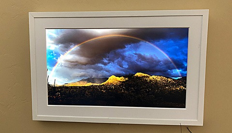 Put Your Photos in a Large Digital Frame at Home and Save a Bundle on Printing