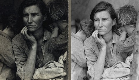 One of the Most Famous Photos in US History Was 'Photoshopped'