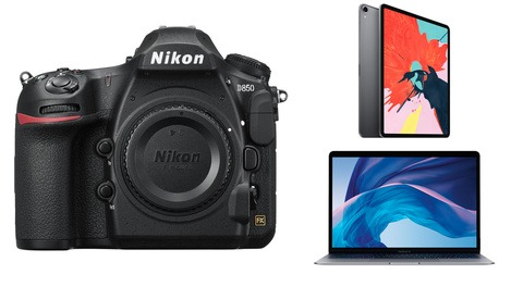 Nikon D850 Finally Back in Stock, New Apple iPad Pros, Mac Minis, and MacBook Airs Available to Order