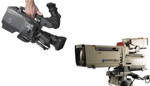 A Fascinating Look at Television Production Cameras