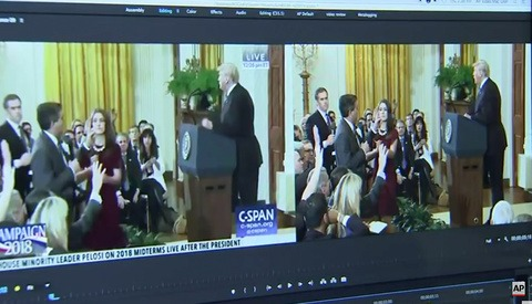 Independent Expert Says White House Doctored Video to Make Reporter Look More Aggressive