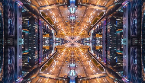 Kaleidoscopic Time-Lapse Video Looks Like Another World