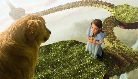 Behind the Scenes: 'Alice in Wonderland' or How to Work With Children for Composited Images