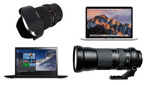 Computers, Lenses, Lighting, and More: The Best Deals From B&H's Mega Deal Zone