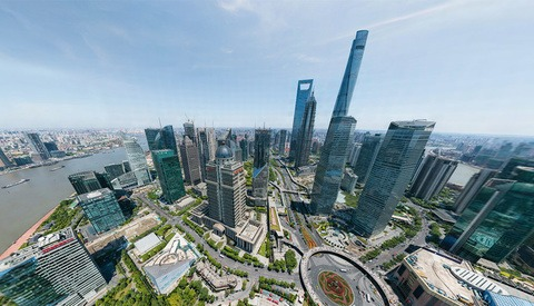 This 195-Billion Pixel Interactive Image of Shanghai is the World's Third Largest Photo