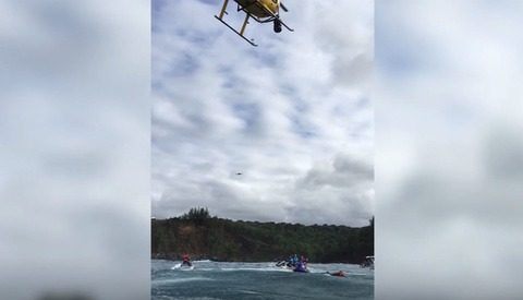 Event Organisers Use Helicopter to Knock an Uninvited Drone Out of the Sky