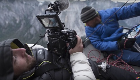 A Behind the Scenes Look at Filming a Movie 3,000 Feet Above the Ground