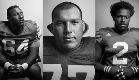 How I Shot My College Football Team Portraits in a Tiny Office