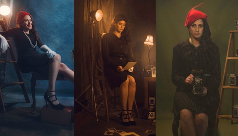 Behind the Scenes: How I Shot This 'Stuck in the 1920s' Photo Series