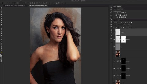 Full Portrait Edit Tutorial in Photoshop in Just Under Six Minutes