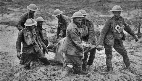 The Power of an Historical Image: Stretcher Bearers at Passchendaele