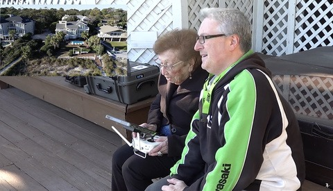 Say Hello to Doris, the 100-Year-Old Drone Pilot