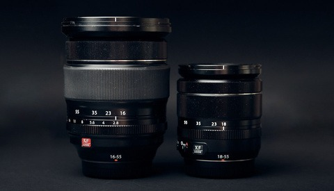 Fstoppers Compares the Fujifilm XF 18-55mm f/2.8-4 and XF 16-55mm f/2.8