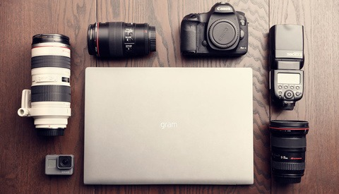 LG gram: The Lightest 17-Inch Laptop in the World Is a Photographer's Dream Come True