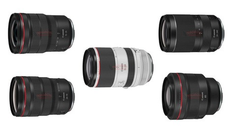 Canon Is Preparing to Announce a Plethora of Mirrorless Lenses