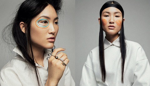 How Per Florian Appelgren Shot L'Officiel Indonesia Beauty Editorial