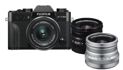 Fujifilm Announces the X-T30 Camera, 16mm f/2.8 Lens, and Firmware 4.1 for the X-T3