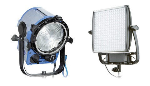 LED Lights Brightness Compared to a 1K Tungsten Light