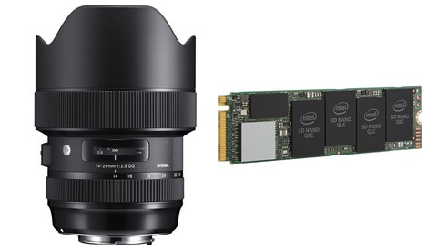 Save Big on a Sigma Art Lens and an Internal SSD Drive Today Only