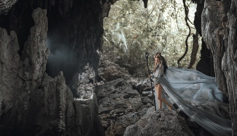 How Jan Gonzales Shot These On-Location Conceptual Portraits