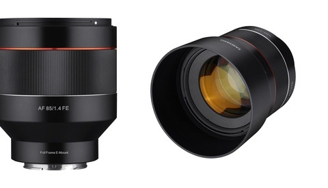 Hands-on Look at the New Samyang AF 85mm F/1.4 FE