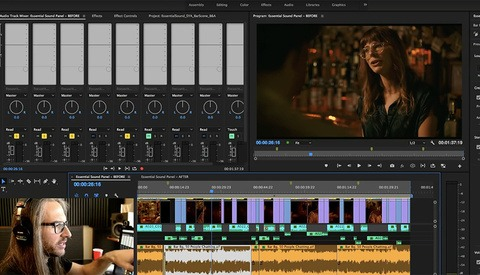 How to Use Essential Sound in Adobe Premiere to Mix and Improve Audio for Your Videos