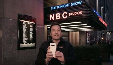 Jimmy Fallon's 'The Tonight Show' Shoots Entire Episode With Samsung Galaxy S10+