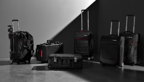 Manfrotto Releases Six New Carry-on Roller Bags for Camera Gear