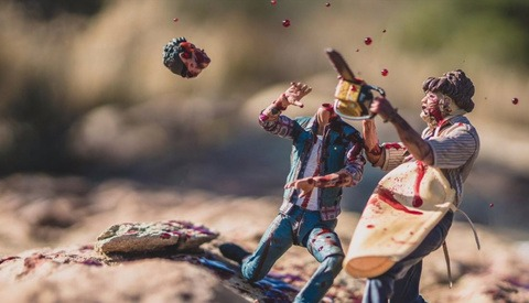 Photographer Captures Intriguing Images of Horror Film Action Figures