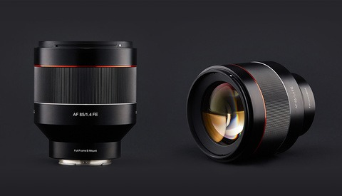Samyang AF 85mm f/1.4 FE Lens Announced for Sony Mirrorless