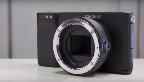 Yongnuo Announces a $500 4K Camera with Android, 4G, and a Canon EF Mount