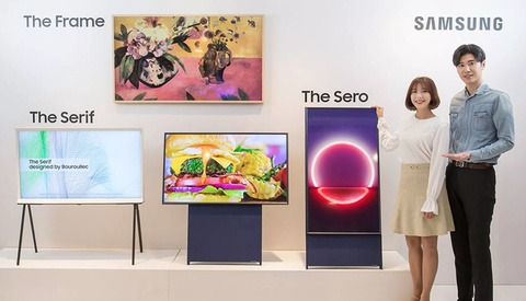 Samsung Catering to Millennials With New Vertical TV Designed to Optimize Viewing of Social Media Content