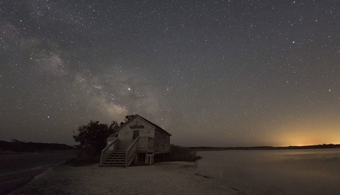 How to Stack Tracked Star Shots With a Foreground