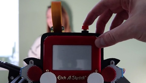 Check Out This Unique Etch A Sketch Camera