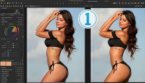 How to Fix Skin Tone and Get Perfect Portrait Skin Easily: Capture One